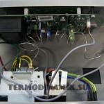 датчик температуры теплоносителя и аварийный датчик пеллетного котла Termodinamik EkyS 25 кВт