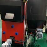 подключение дымохода к пеллетному котлу Termodinamik EkyS 25 кВт